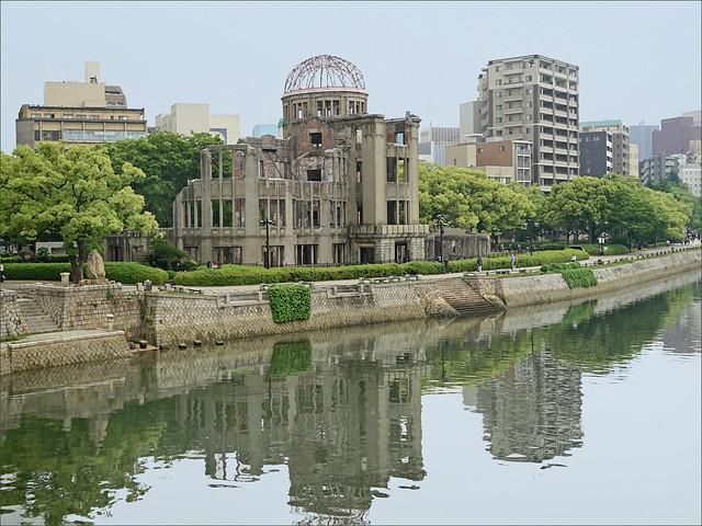 Le dôme de Genbaku (Hiroshima, Japon)