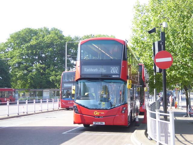 Go Ahead London Metrobus WHV51 BP15 OMA on 202, Crystal Palace Bus Stn, London