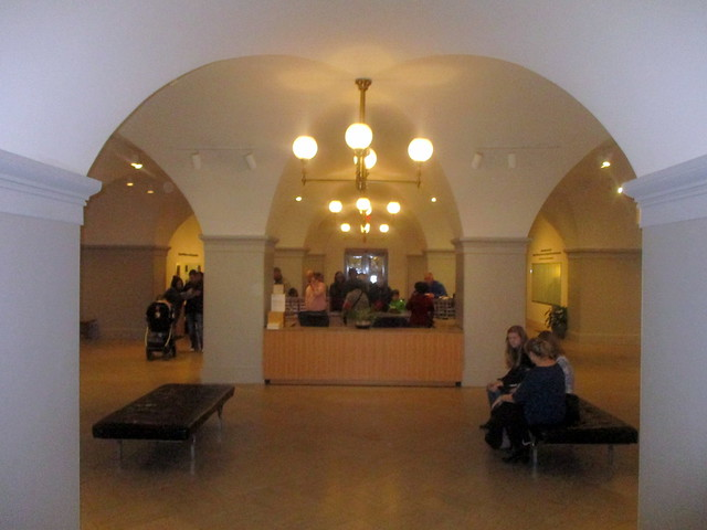 View of F Street Lobby from North