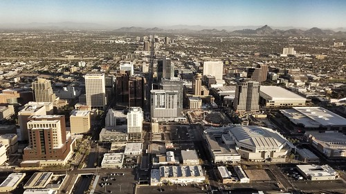 Bird's perspective of Phoenix | by CzechInChicago
