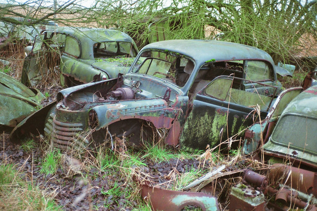 Autofriedhof: Opel Olympia
