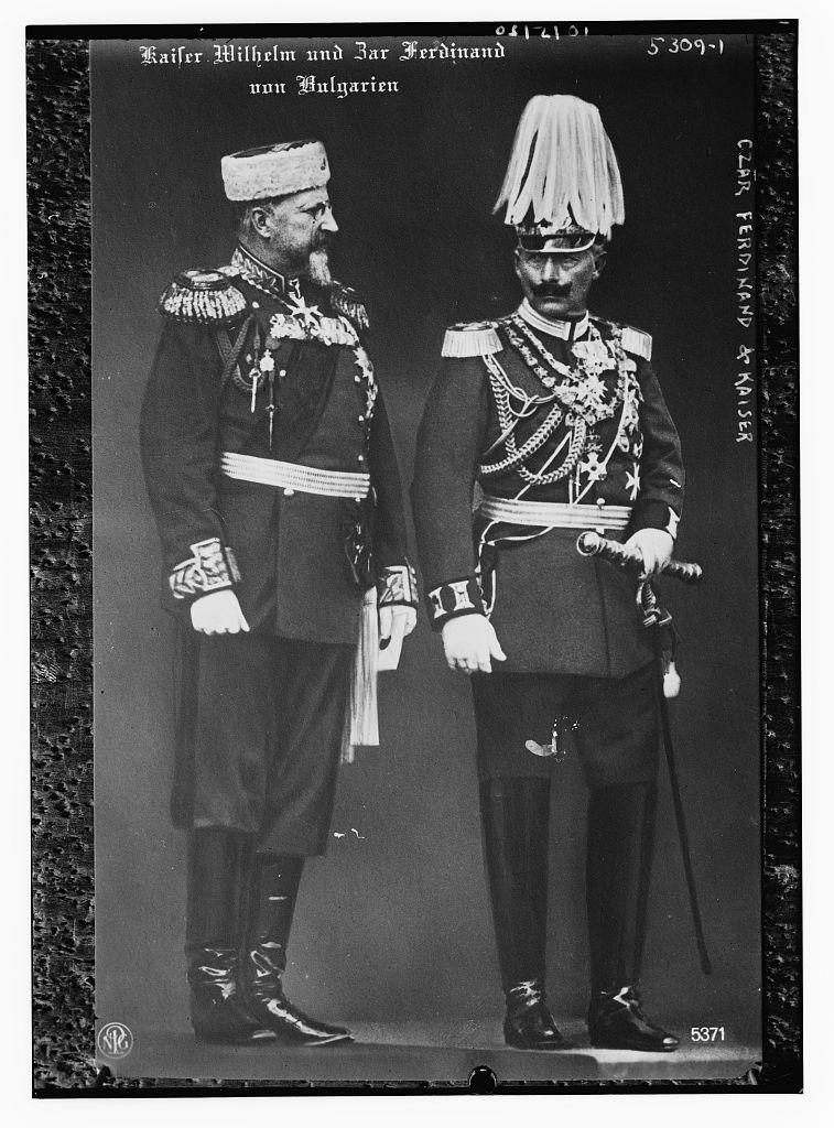 Czar Ferdinand & Kaiser [Wilhelm] (LOC)