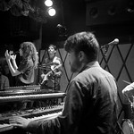 Thu, 31/05/2018 - 7:05pm - Natalie Prass and her band perform live on WFUV Radio from Rockwood Music Hall in New York City, 5/31/18. Hosted by Russ Borris. Photo by Gus Philippas/WFUV