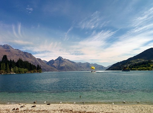 Lake Wakatipu in the late afternoon | by steve.upton