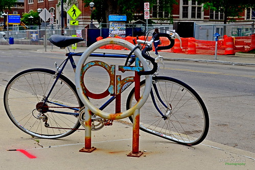 Rusty Bike Art