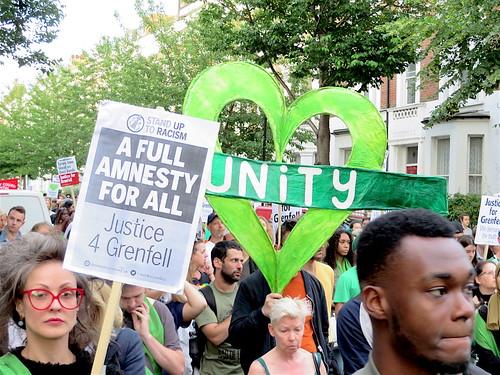 Grenfell unity heart