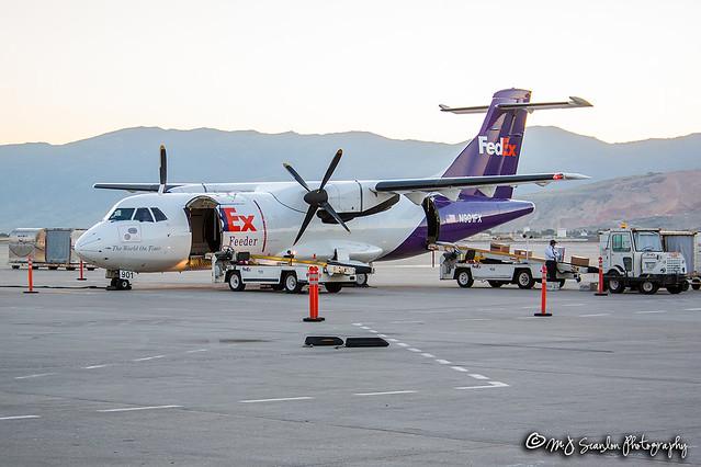 N901FX FedEx   ATR 42-320(F)   Salt Lake City International Airport