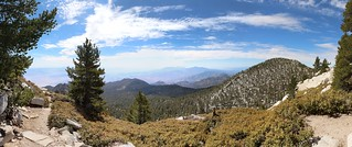 544 Panorama view south and east from the San Jacinto Peak Trail as we head downhill | by _JFR_