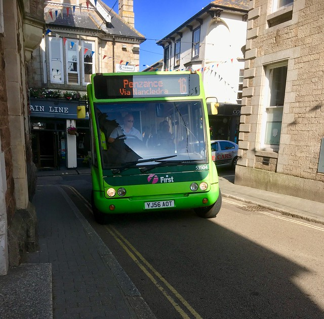 First Kernow YJ56AOT  53504  St. Ives 11/6/18