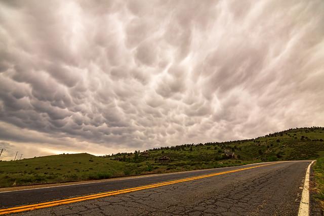 Roaring Storming Highway Skies