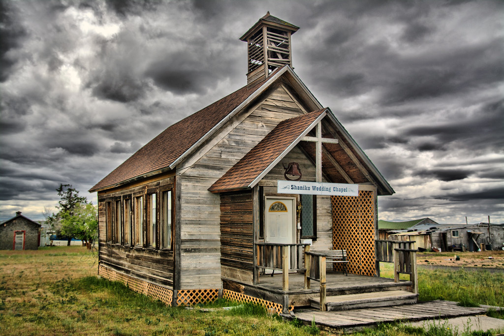 Shaniko Wedding Chapel Old Wedding Chapel Along The Oregon