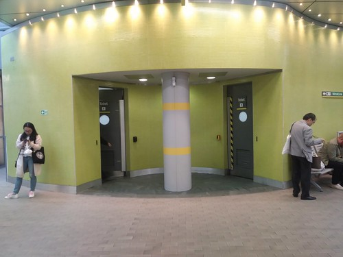 Restrooms, Liverpool Central train station, Merseyrail, Liverpool