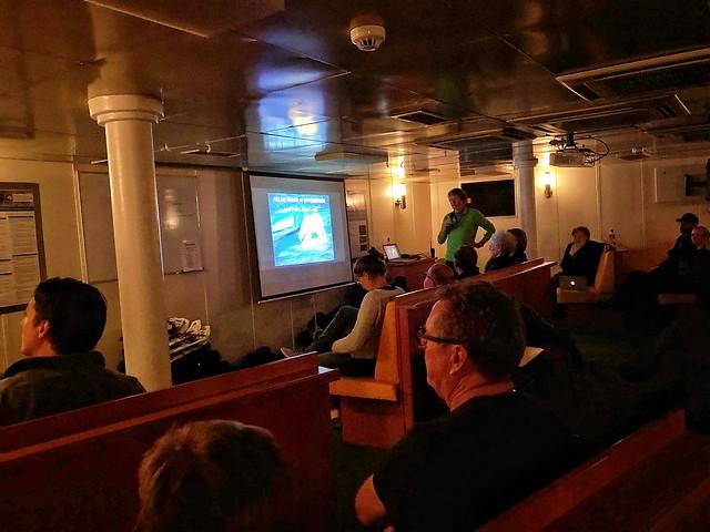 Conferencia sobre los osos polares en Svalbard