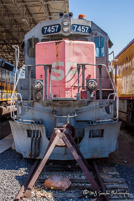SP 7457 | EMD SD45R | Utah State Railroad Museum