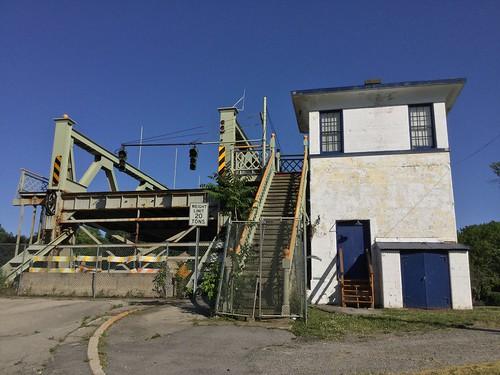 lockport lockportny eriecanal bridge abandoned