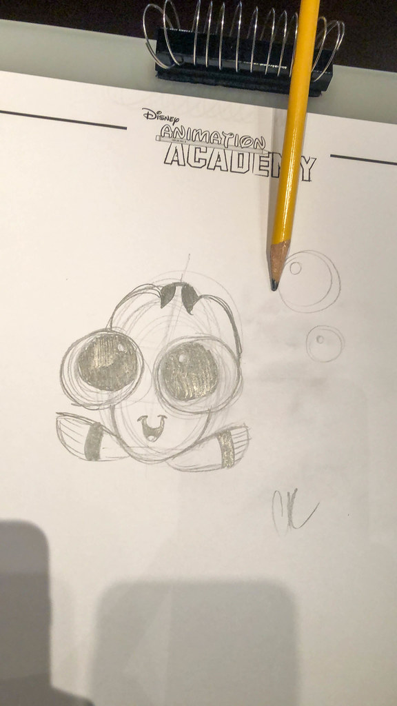 Baby Dory at Animation Academy