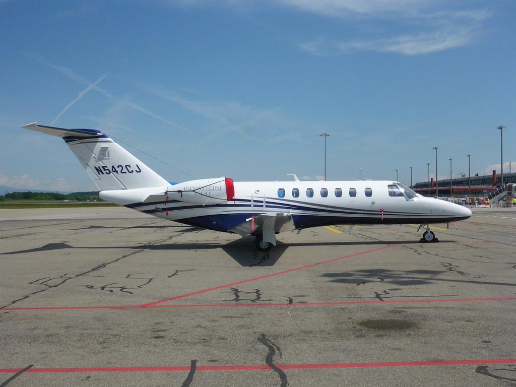 Cessna 525B Citation CJ3+ Textron Aviation N542CJ  GVA, Ma…   Flickr