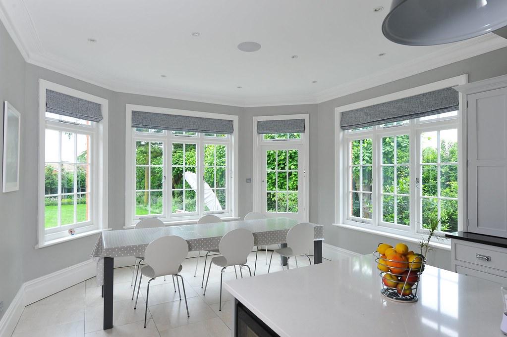 Kitchen Casement Window Feature Bay With Back Door Flickr