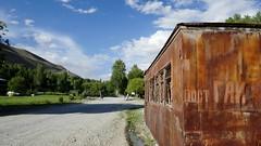 Langar / Лангар (Tajikistan) - Former police checkpoint