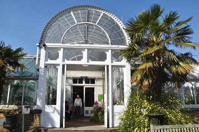 Glass House Entrance, Birmingham Botanical Garden