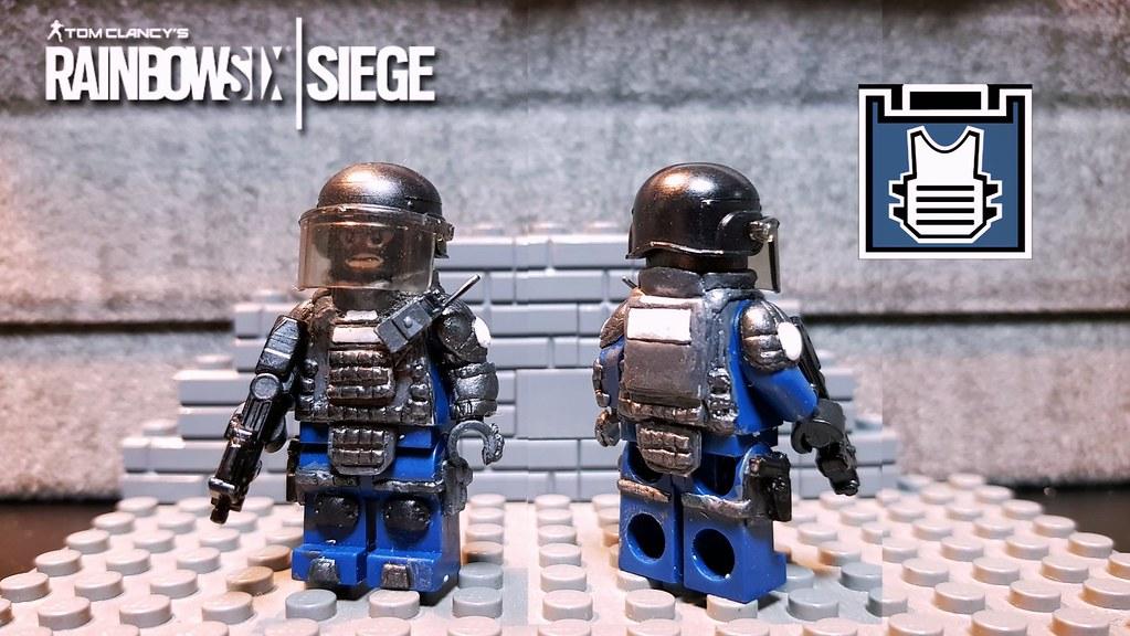 Lego Rainbowsix Siege Rook | Hi guys As I told before I post… | Flickr