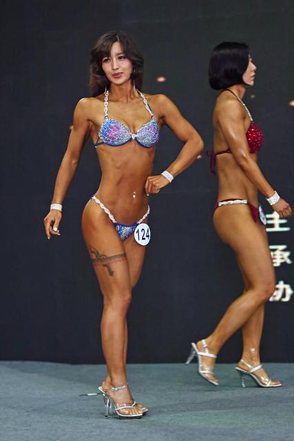 2018奥斯风暴杯辽宁省健身健美大赛B组选手124三