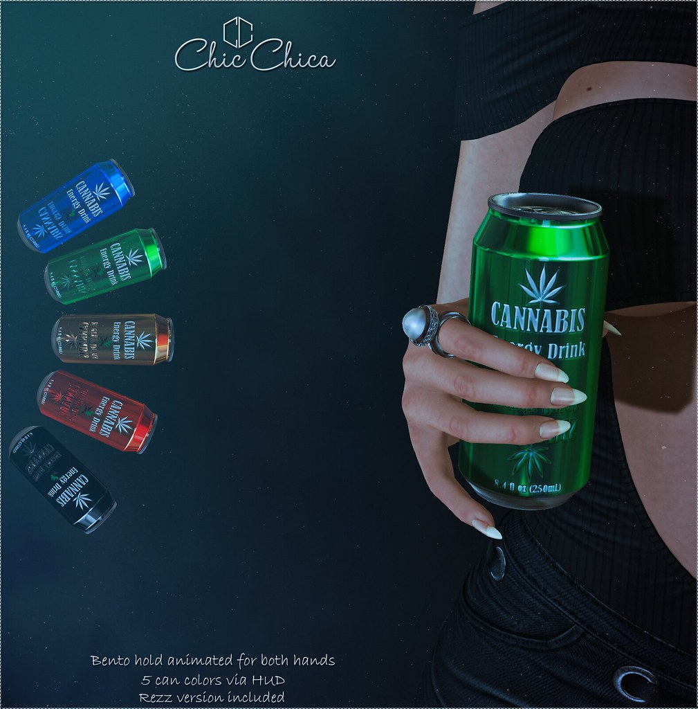 Energy drink by ChicChica 75 lindens for the Saturday Sale