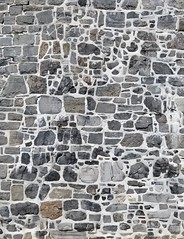 18th century stone wall