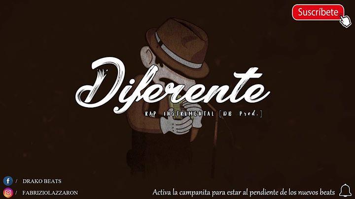 01  Diferente 🎸 - Hip Hop Instrumental [Uso Libre] - Drak