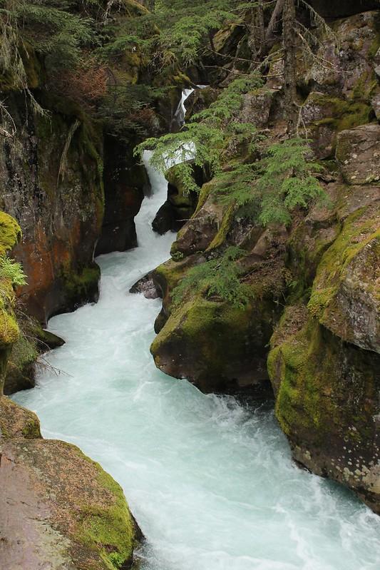 gorge-at-avalanche-lake-hike-west-glacier-national-park