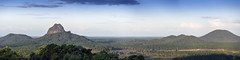 Glass House Mountains panorama