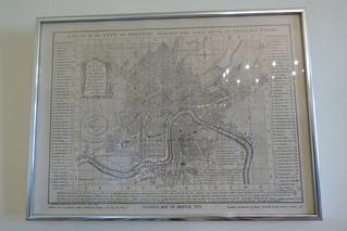 A plan of the city of Bristol, Donne's Map of Bristol 1773,  Chawton House and gardens