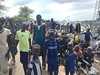 In September 2017, about 20 000 people were stranded, without any protection or assistance, on the road from South Sudan for several days. In such situations, the European Commission's Civil Protection and Humanitarian Aid Operations (ECHO) engage in humanitarian diplomacy to enable the provision of lifesaving aid as quickly as possible.   ©2017 European Union (photo by Lars Oberhaus)