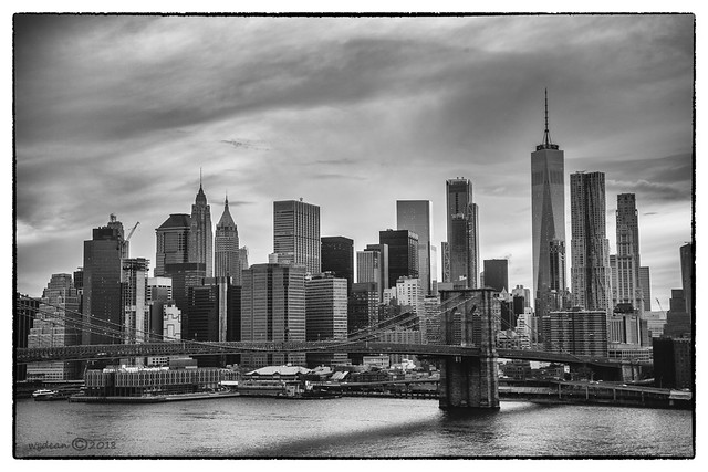 lower Manhattan b&w          6228