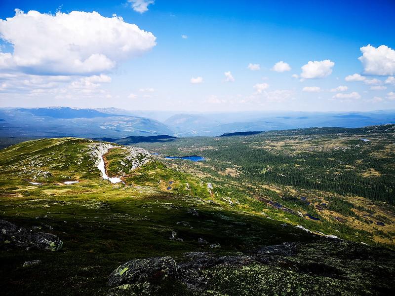 19-Utsikt nordover fra Senhovd