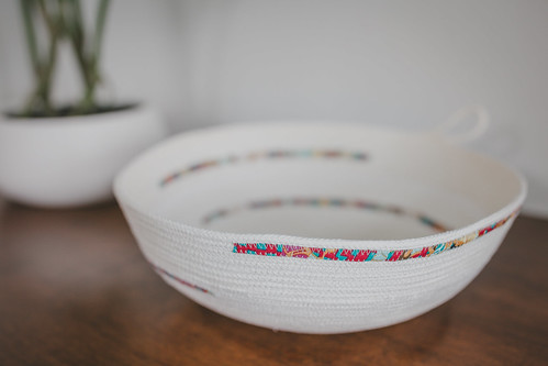 Rope bowl | by frommartawithlove