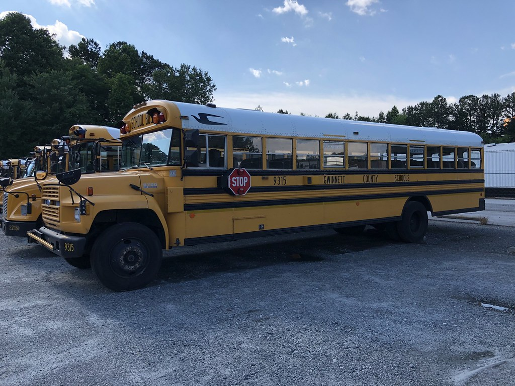 Gwinnett County Public Schools, Ga 1993 Blue Bird Ford | Flickr