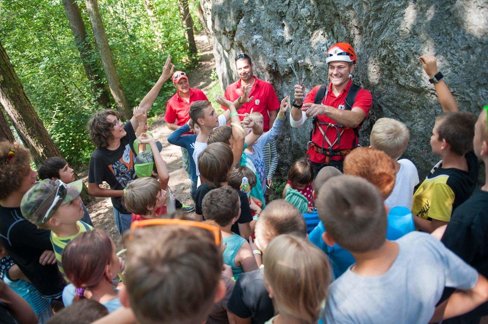 Kurzy lezenia alezecké tábory pre deti