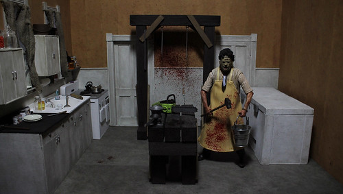 Leatherface's Kitchen Diorama | by scarrviper