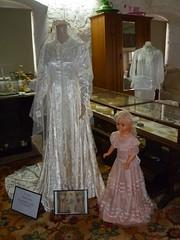 6ddf4c494ba Wedding dress display May 2018 Maurren Tucker nee Griffiths - Mallala