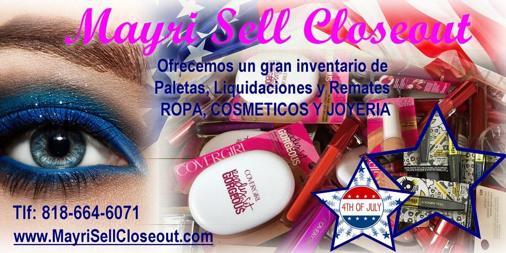 Wholesale merchandise sale | MayrisellCloseout 💋 Cosmetics