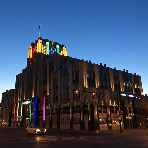 Art Deco with colorful lighting. Syracuse | by DanCentury