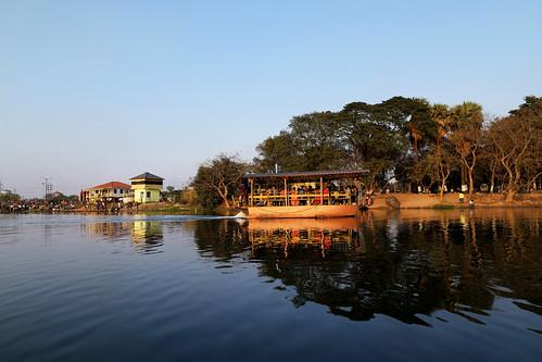 huchukdanga durgapur river damodor naturepark picnicspot rivercruise travel tour bengal india