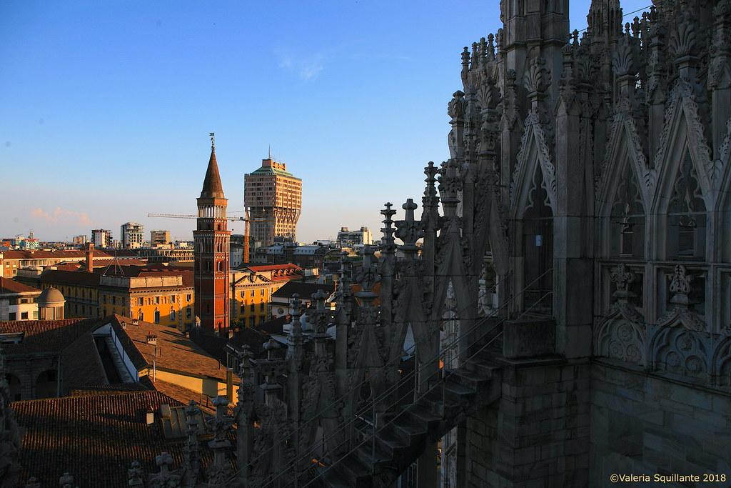 Terrazze Del Duomo Di Milano Duomo Di Milano Valeria