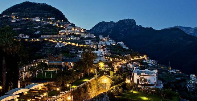 Lovely evening in Ravello