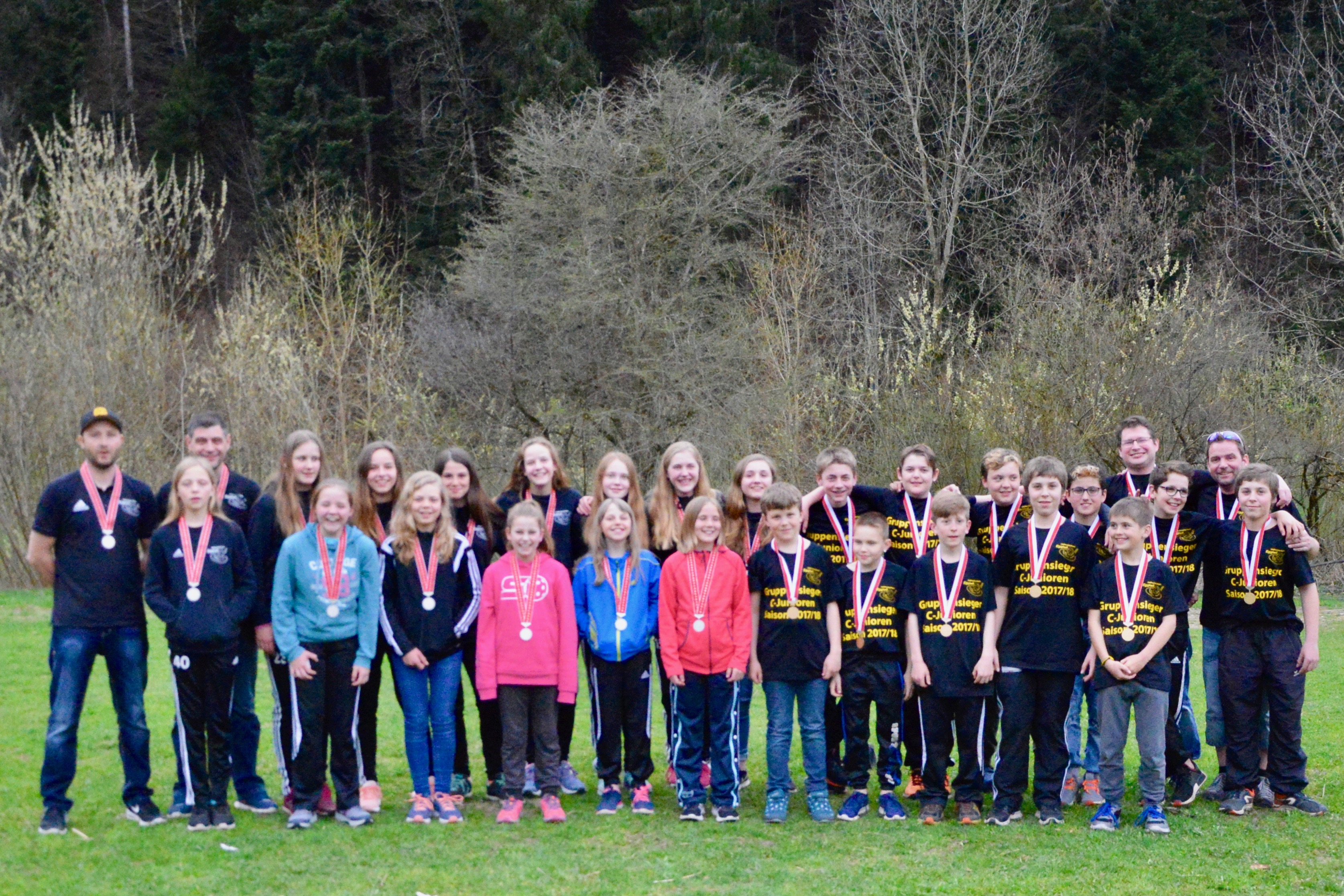 Juniorinnen C - Finalrunde Empfang im Eggiwil Saison 2017/18