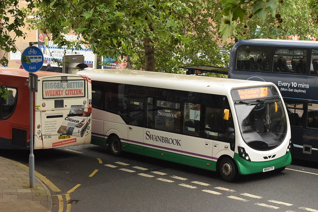 SC MX14FTY @ Gloucester bus station
