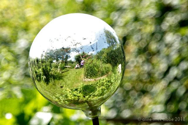 TAKING PICTURES IN THE GARDEN || ZELFPORTRET IN DE MENGELMOESTUIN