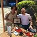 Hugo giving Mr Sugiyama an Award of Excellence for the Quality of his Teas