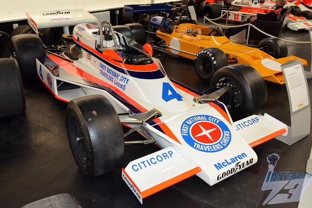 McLaren-Cosworth DFX M24, Donington Grand Prix Collection, Donington Park Museum, 26th May 2018